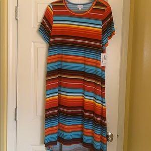 LulaRoe XL Carly Dress NWT